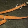 braided haystring collars