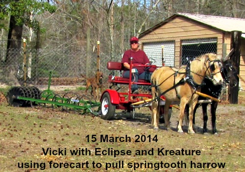 Elclipse & Kreature pull harrow